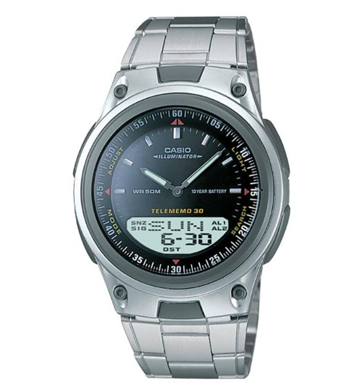 Casio World Dress Data AW-80D-1AVES