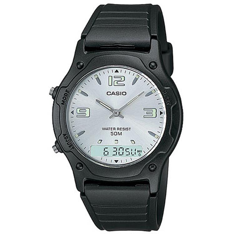 Casio World Dress AW-49HE-7AV