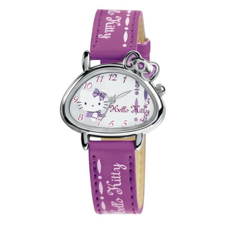 Hello Kitty horloge Tarumizu Purple NLHK10028 horloge