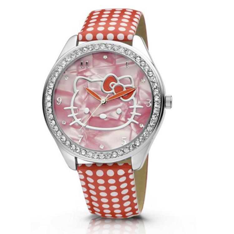 Hello Kitty horloge Yae Red NLHK10037 horloge
