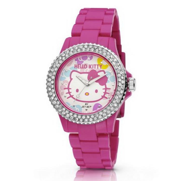 Hello Kitty Opbergkast.Hello Kitty Horloge Uto Pink Red Nlhk20013 Goedkoopste Van Nl