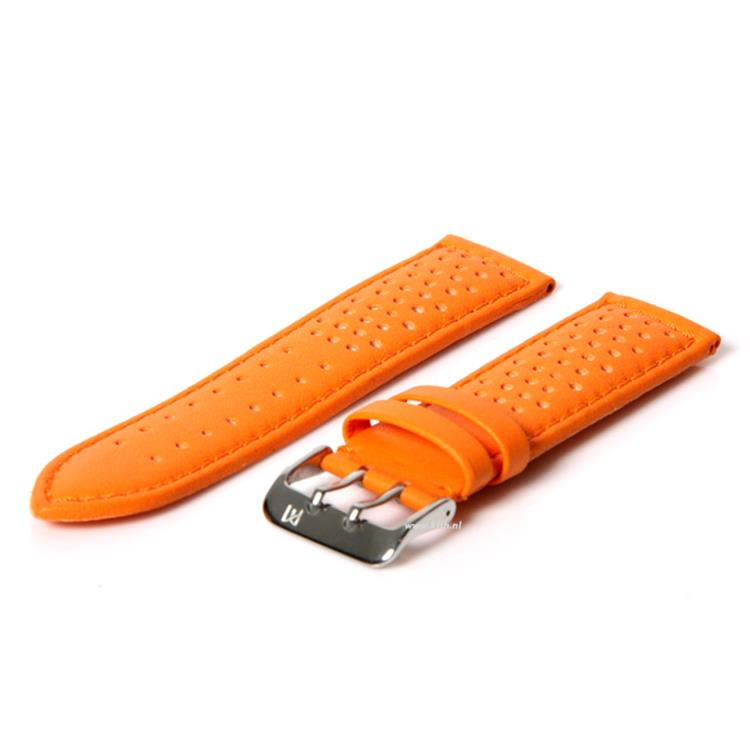 Horlogeband 24mm (waterproof) oranje