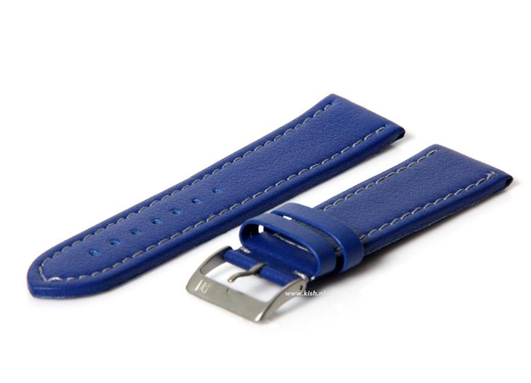 Horlogeband 24mm (waterproof) blauw