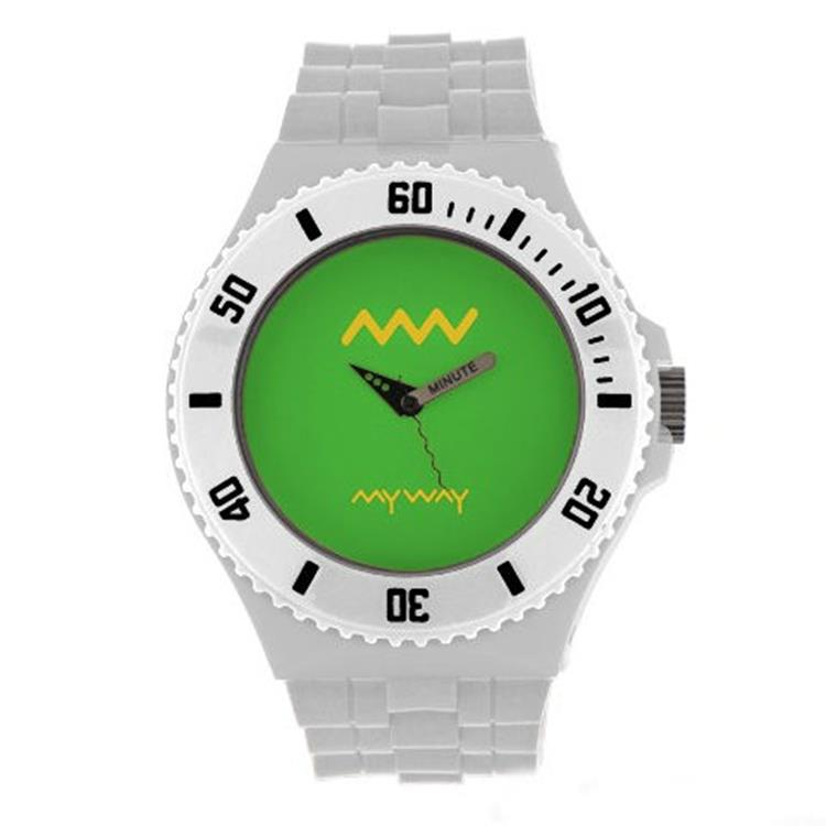 MYWAY MYWATCH MY002-006 wit groen