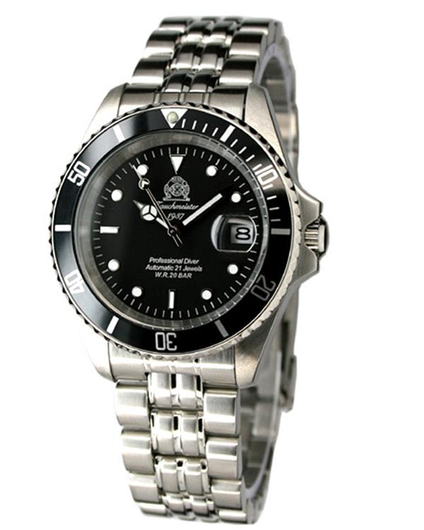 Tauchmeister 1937 horloge Diver T0250 Automaat