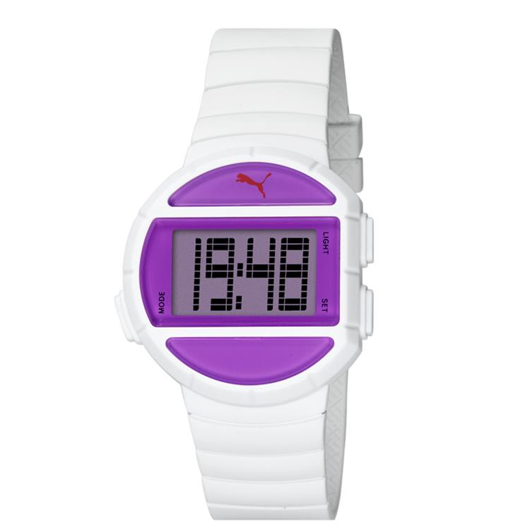 Puma horloge Half Time S white purple PU910892002