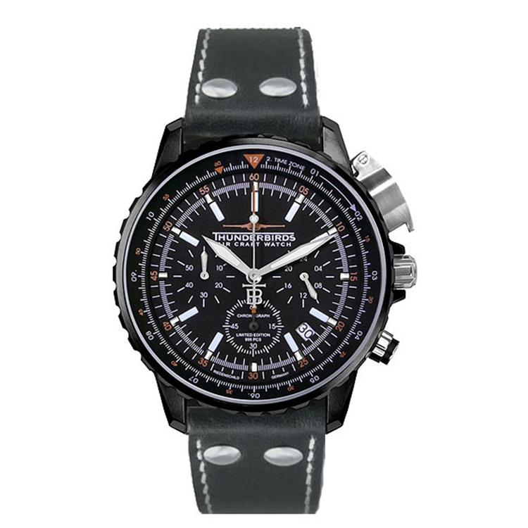 Thunderbirds horloge Falcon Pro IP Black 1078-E09S