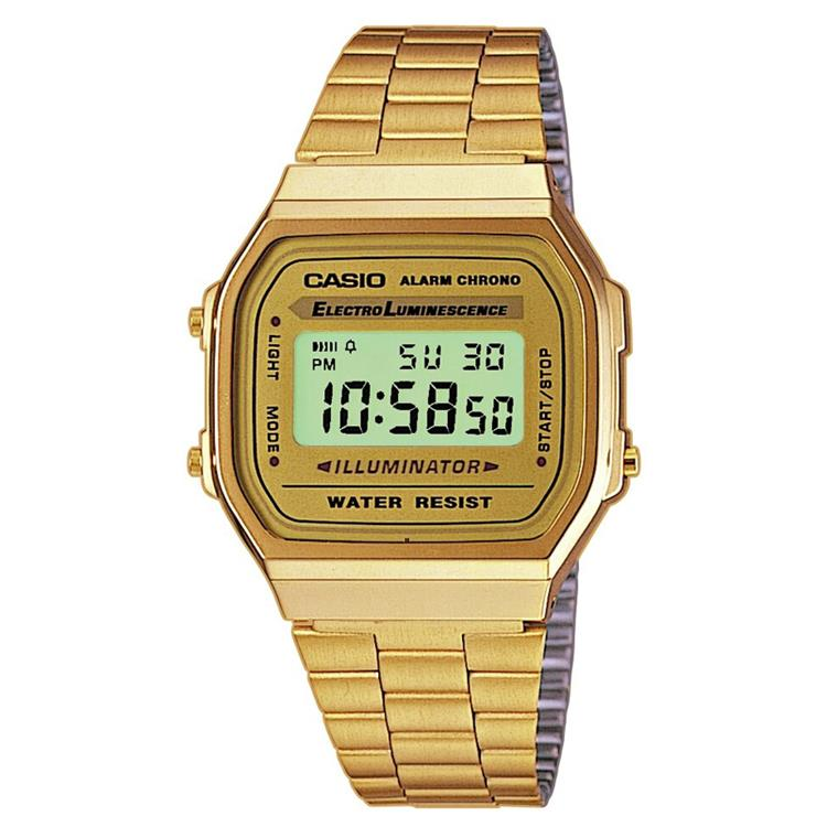 Casio Collection A168WG-9EF retro