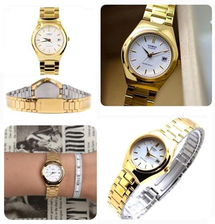 c8ffa5be593 Casio Collection LTP-1170N-7A gouden horloge   Lage prijzen!