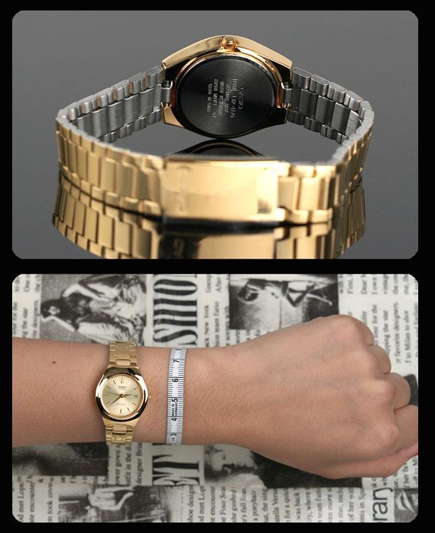 e98db593491 Casio Collection LTP-1170N-9A gouden horloge   Lage prijzen!