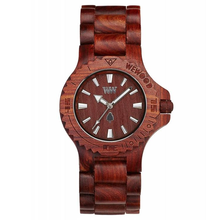 WeWOOD horloge Date brown