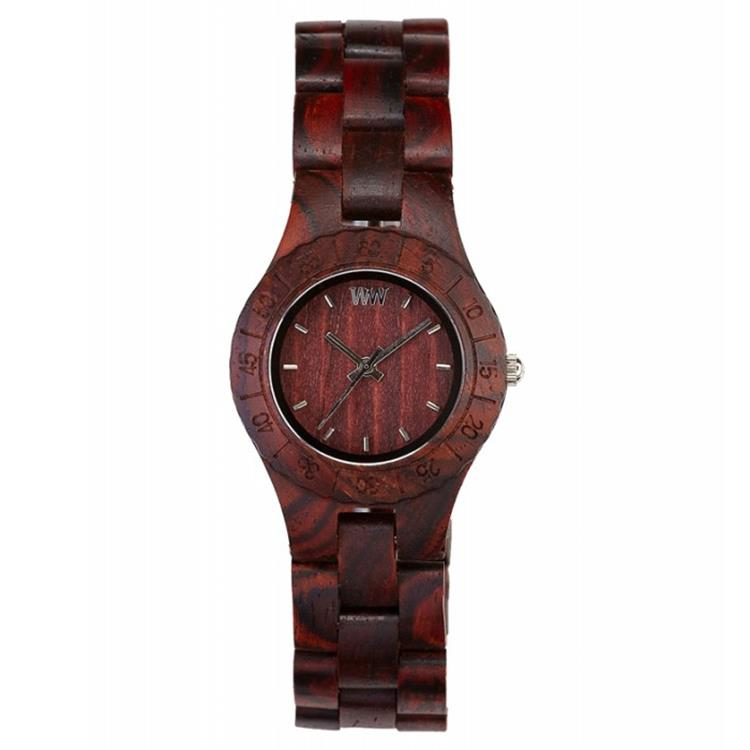 WeWOOD horloge Moon brown