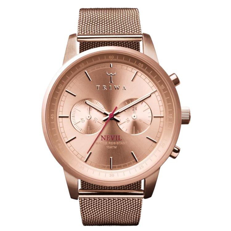 Triwa horloge Stirling steel rose Nevil