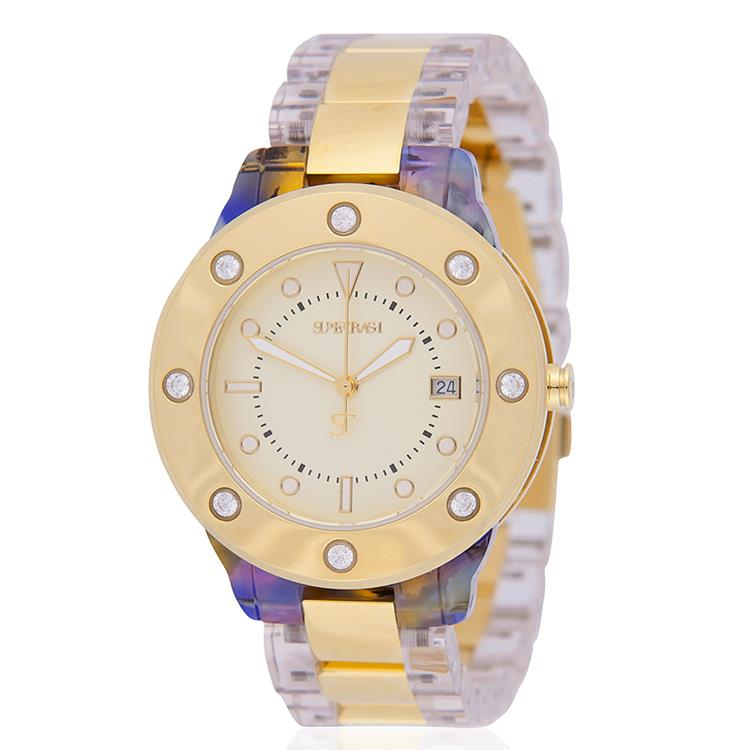 Supertrash horloge Wira Gold WS13M013