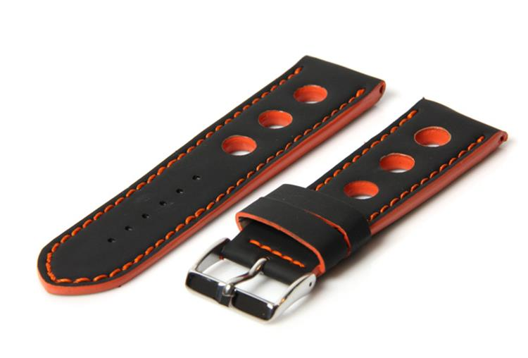 Horlogeband rubber 24mm racing