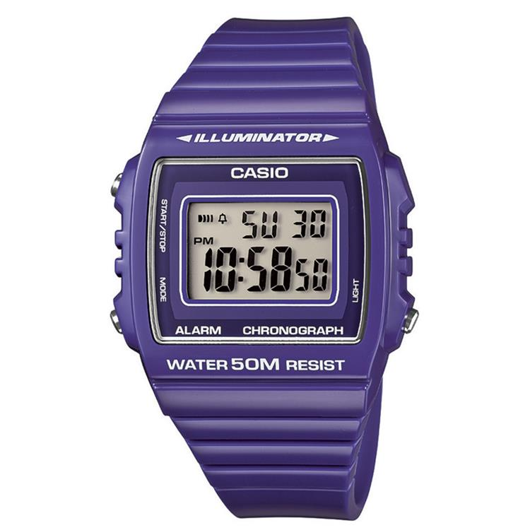 Casio Collection W-215H-6AVEF
