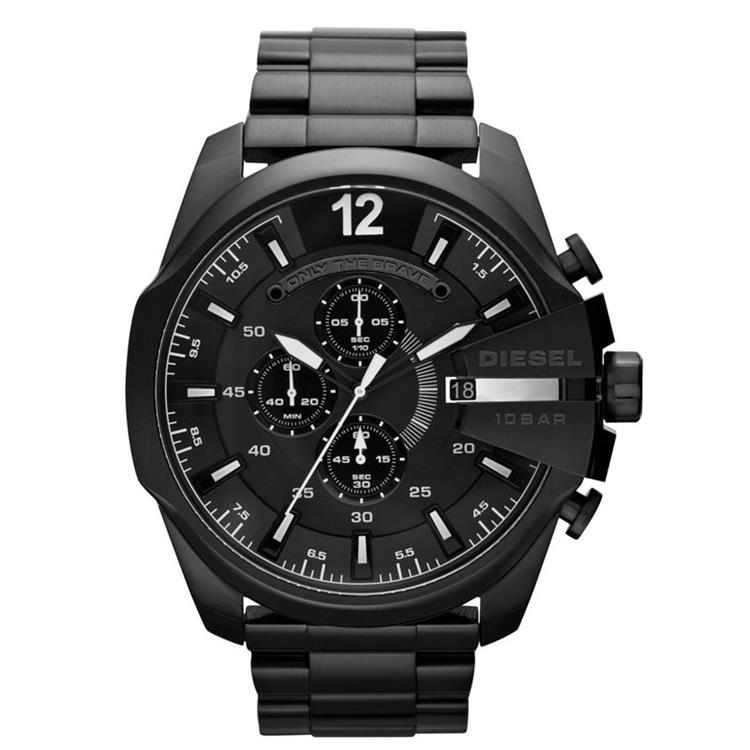 Fabulous Diesel DZ4283 horloge - Mega Chief watch (beste prijs)! XB09