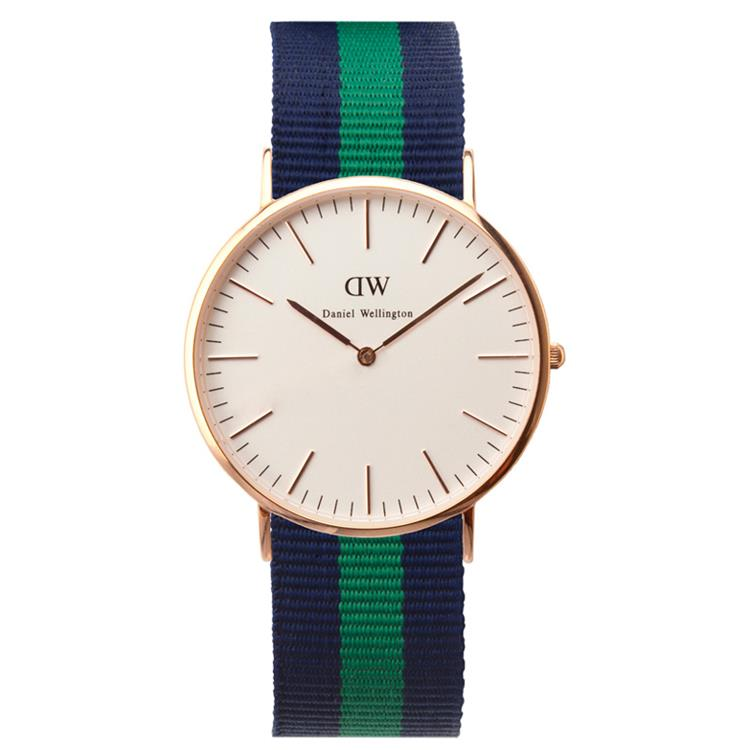 Daniel Wellington horloge Warwick 40mm