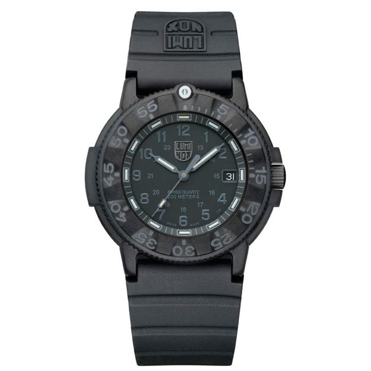 Luminox horloge A.3001.BO Navy Seal Black Out
