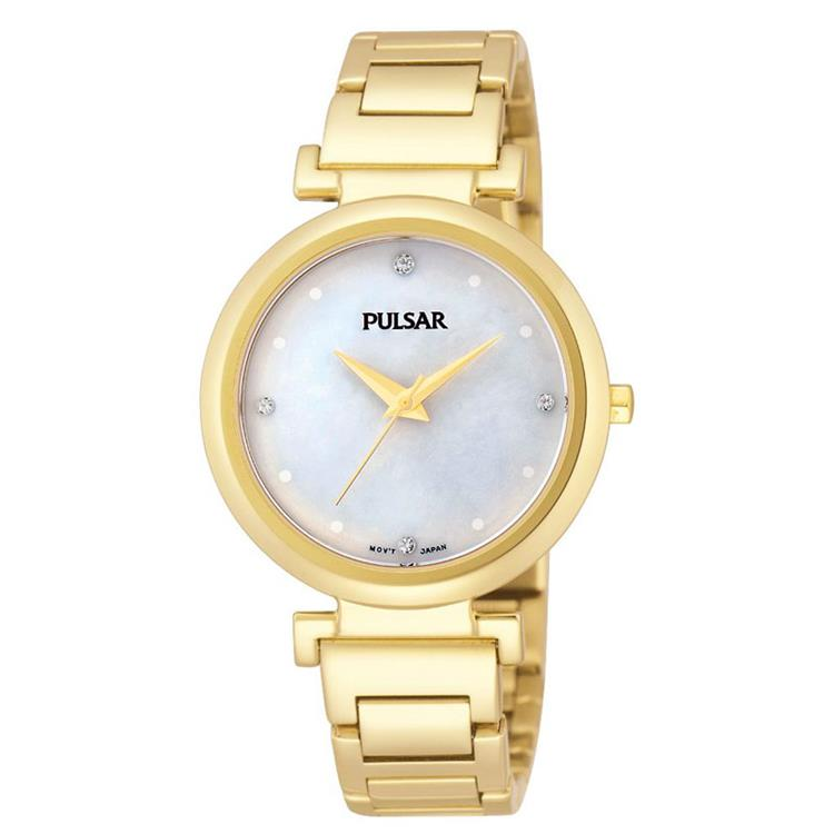5b654b8a73c Pulsar dames horloge PH8086X1 met Swarovski | Aanbieding