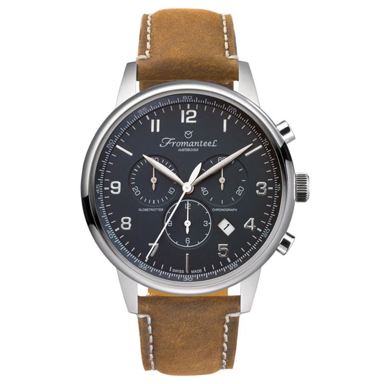 Fromanteel horloge Chrono Midnight black vintage