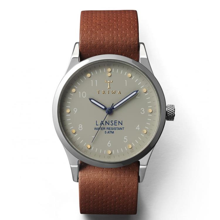 Triwa horloge Dawn Lansen Brown Dots