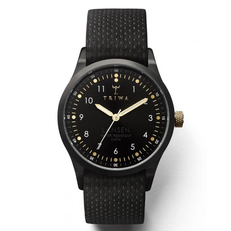 Triwa horloge Midnight Lansen Black Dots