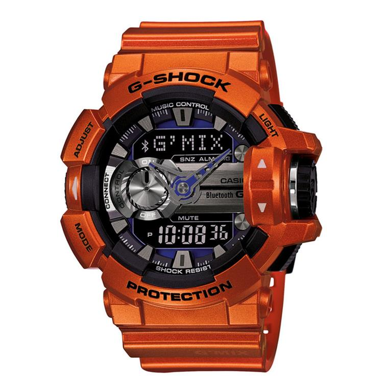 Casio G-Shock GBA-400-4BER Bluetooth