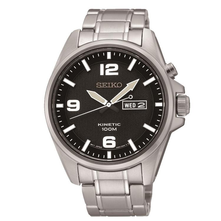 Seiko horloge SMY137P1 Kinetic heren