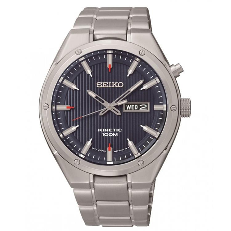Seiko horloge SMY149P1 Kinetic heren