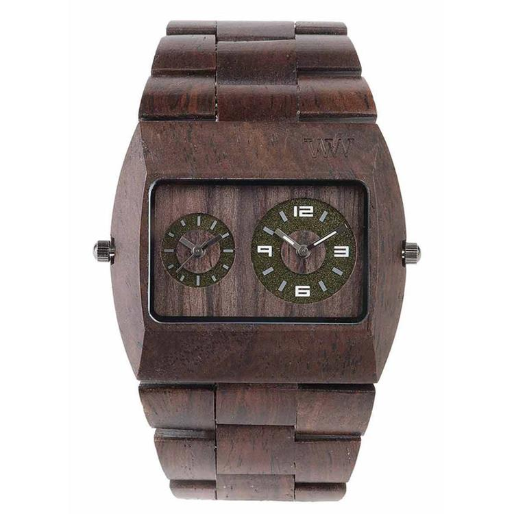 WeWOOD horloge Jupiter Chocolate