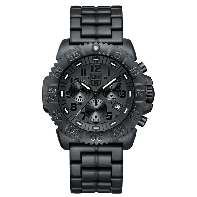 Luminox horloge A.3082.BO Navy Seal Colormark Carbon