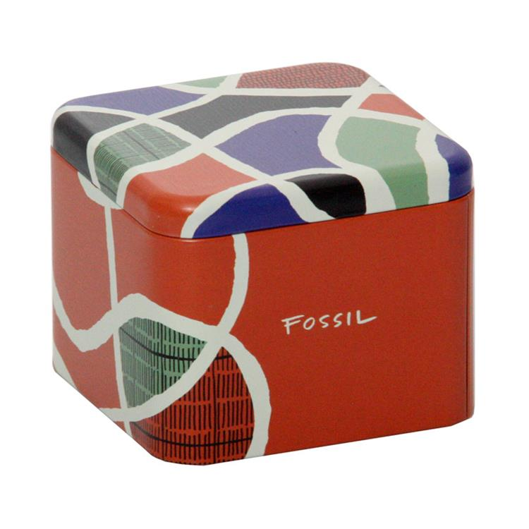 Fossil Luxe horlogebox rood