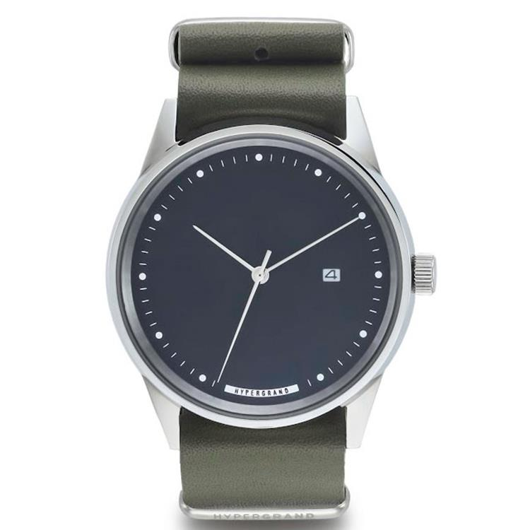Hypergrand Maverick Leather horloge Oxley Green