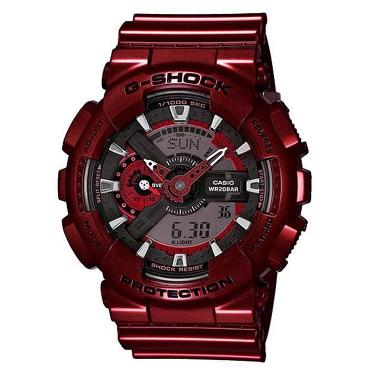 Casio G-Shock GA-110NM-4AER Neo Metallic