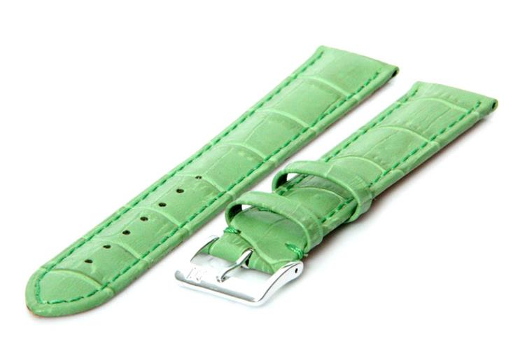 Horlogeband 18mm Appel groen XL