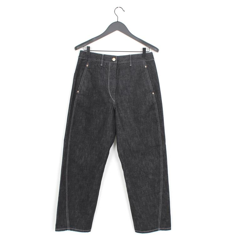 Lemaire twisted pants dark indigo