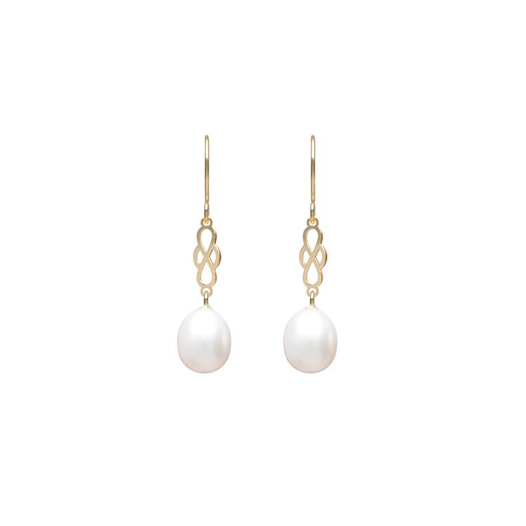 Wouters & Hendrix earrings with freshwater pearl