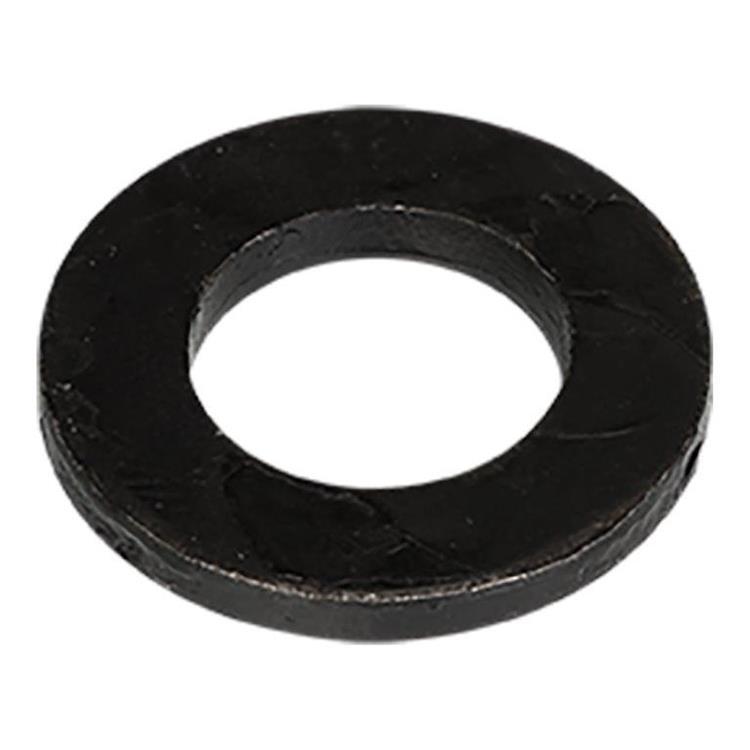 Zwarte sluitringen BlackLine DIN125A M6 Deltacoll 100 st.