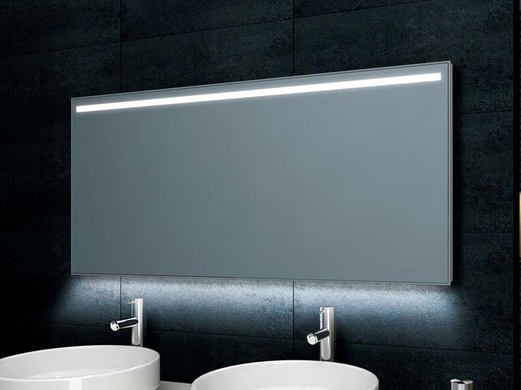 spiegel met dimbare led verlichting 140 x 60 cm incl verwarming