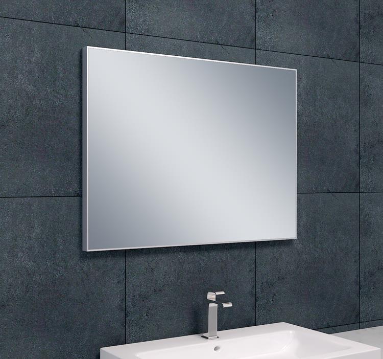 wiesbaden aluminium spiegel 100 x 60 cm. Black Bedroom Furniture Sets. Home Design Ideas