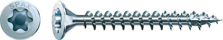 SPAX spaanplaatschroeven TORX platkop 3,5 x 25 mm T20 WIROX Voldraad 200 st