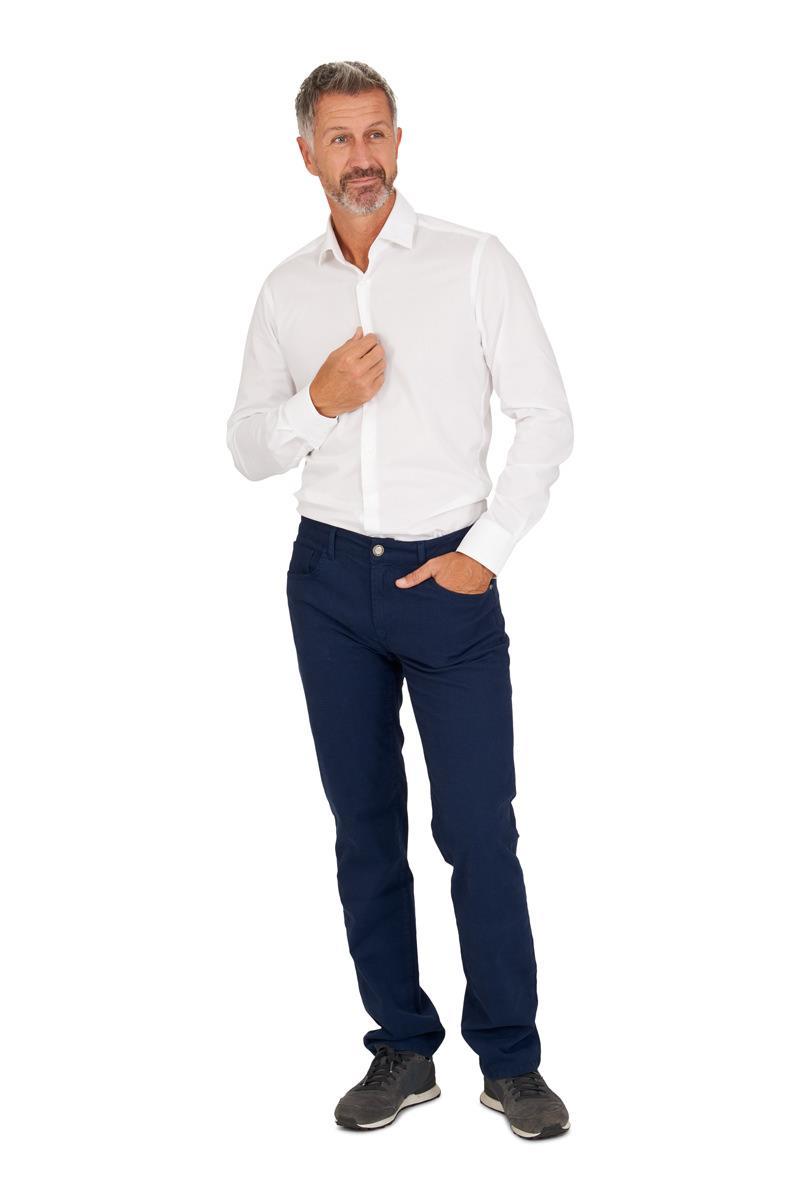 Overhemd Wit Slim Fit.Overhemd Katoen Wit Slim Fit Miller Monroe