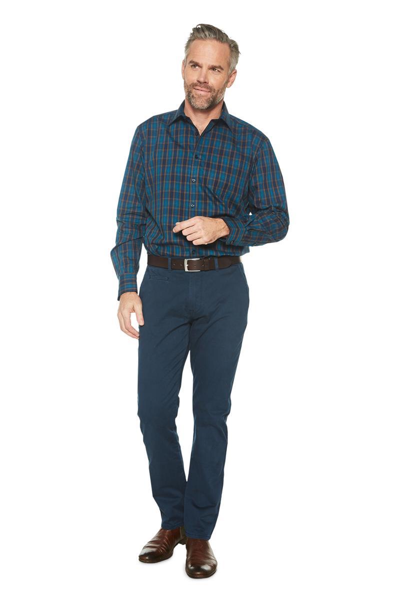 Paars Heren Overhemd.Heren Overhemd Herrick Geruit Dessin Paars Miller Monroe