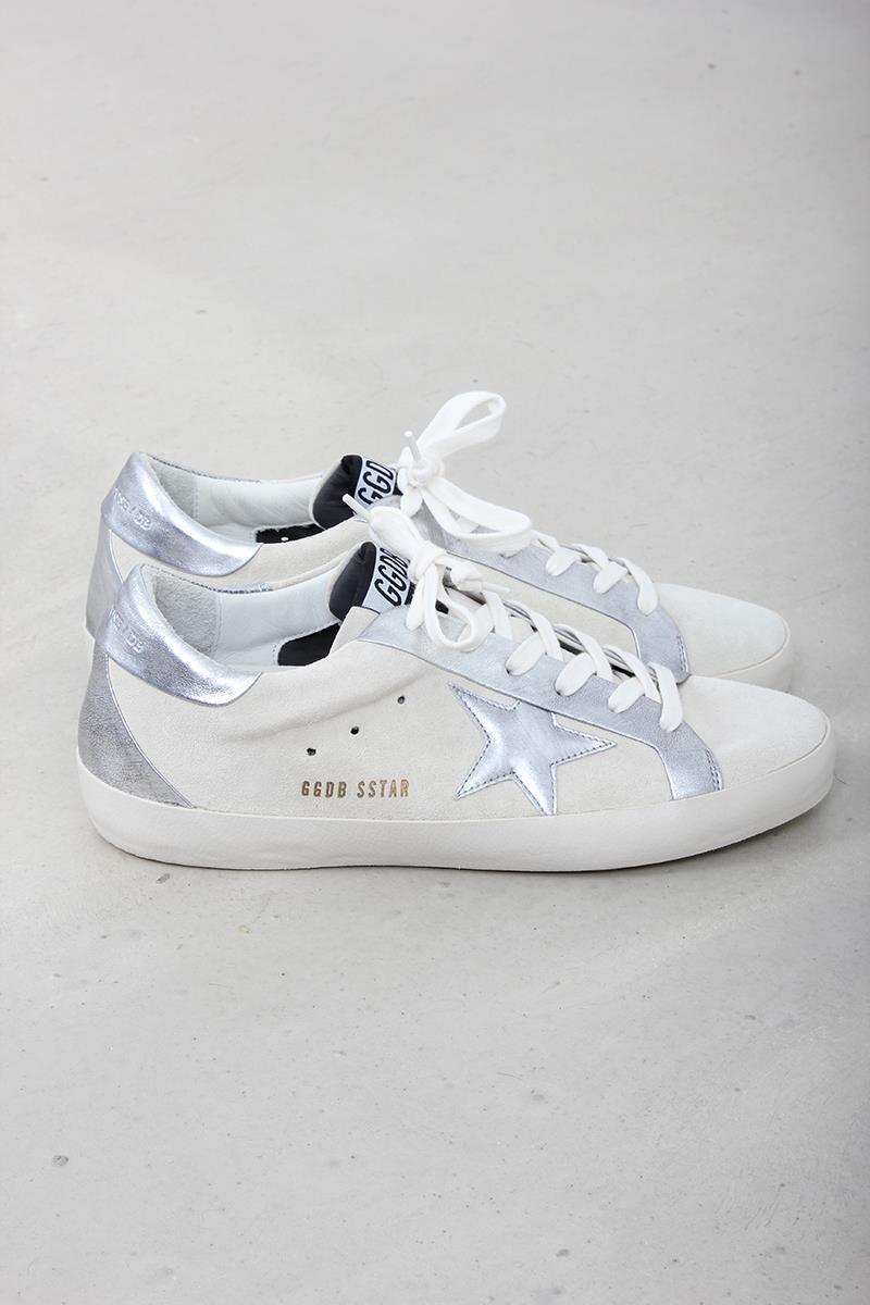 Golden Goose sneaker superstar bespoke white silver star. Zoom a8336b1ab