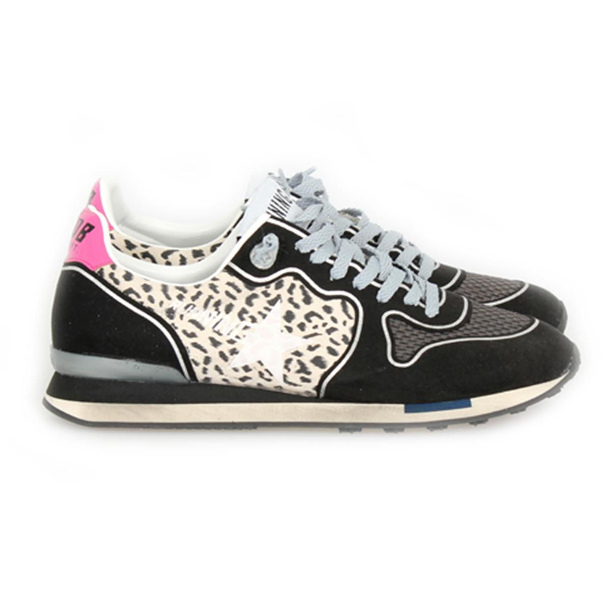 webshop kim werner golden goose deluxe brand sneaker running leopard peonia. Black Bedroom Furniture Sets. Home Design Ideas