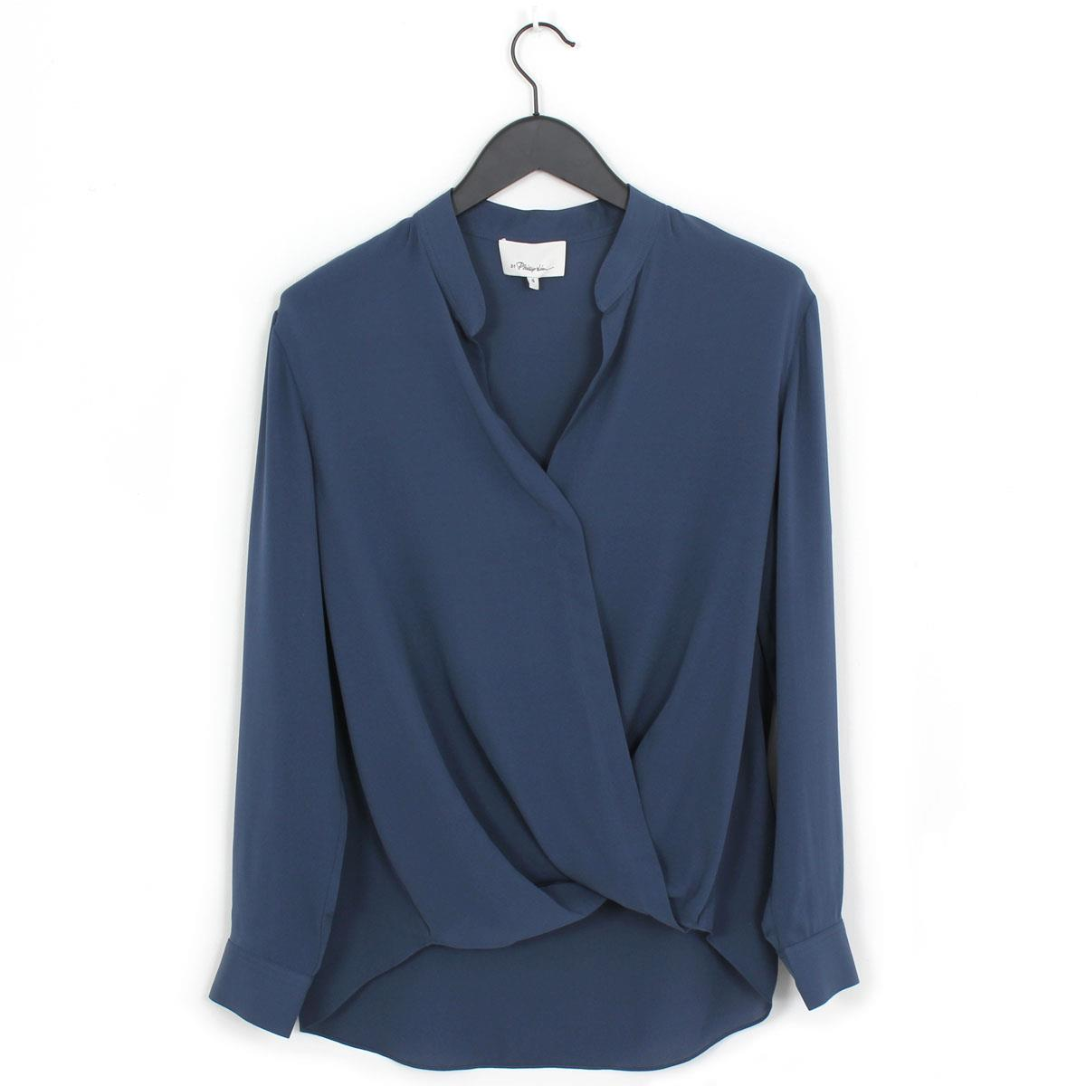 res lucky draped shirt hi brand drapes blouse