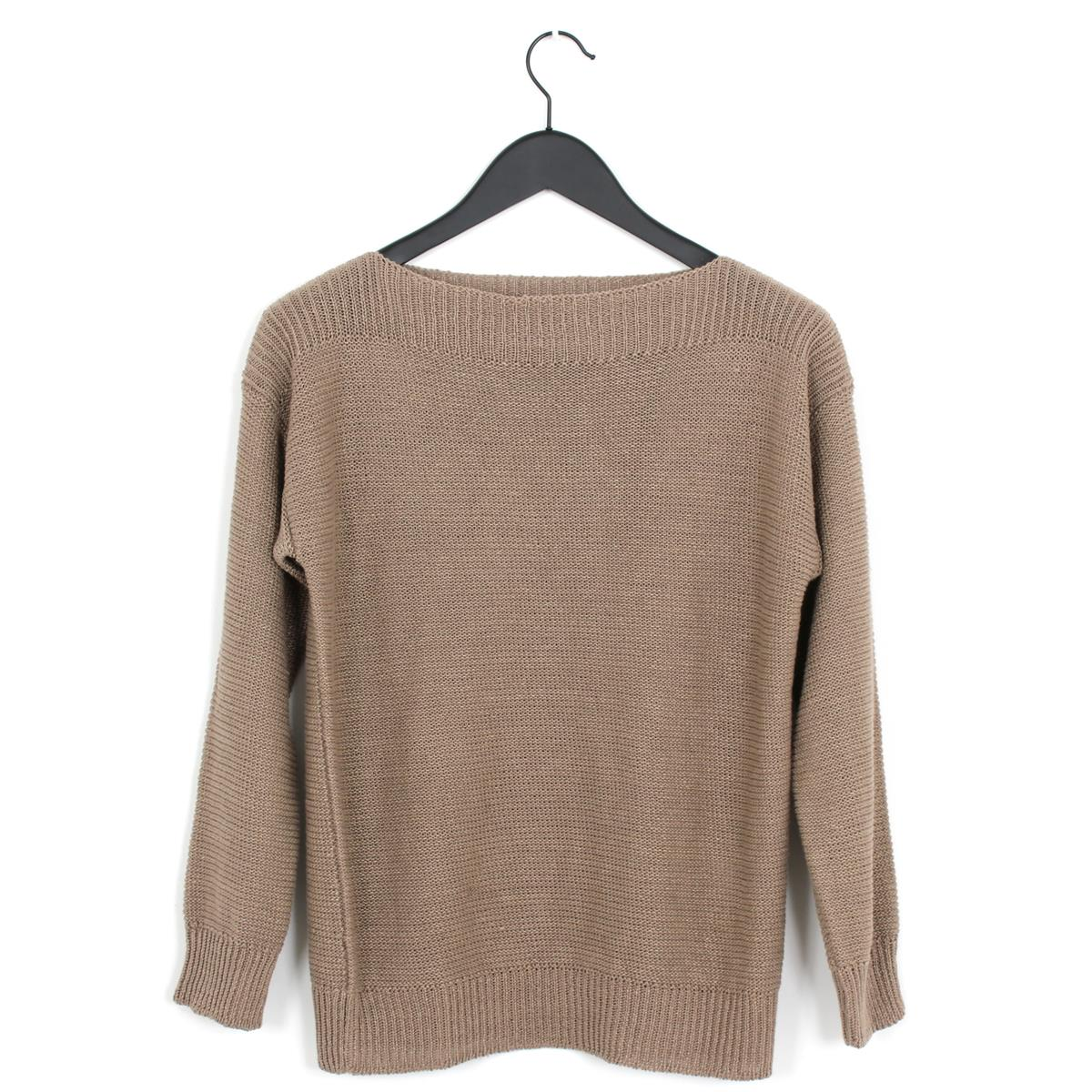 6e3840c483 Cristaseya linen boatneck sweater kaki. Zoom
