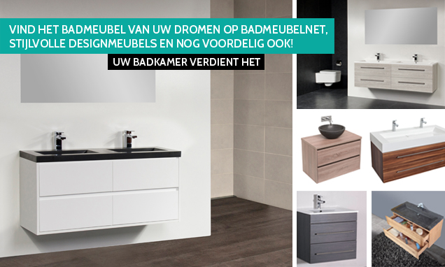 Goedkope Badkamer Matten : Badkamermeubel goedkoop laagste prijs online badmeubelnet ✅