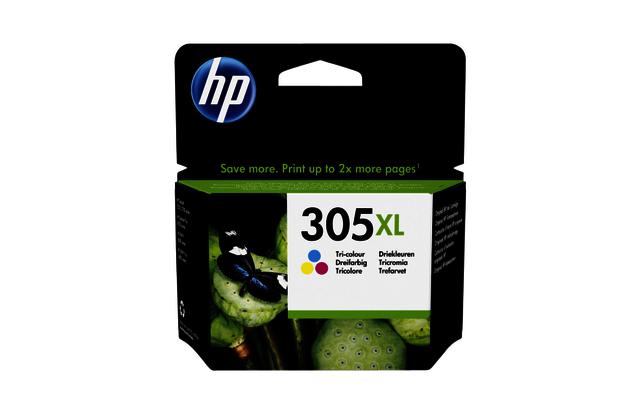HP 305XL 3 kleuren inktcartridge 3YM63AE